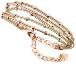 Nakamol Multi-Strand Ball Bead Bracelet, Tan