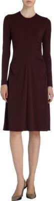 Narciso Rodriguez Long Sleeve Flare Dress