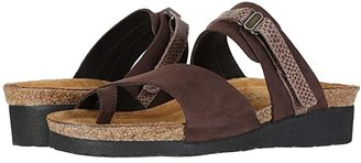 Naot Footwear Jessica (Vintage Slate Leather/Mirror Leather) Women's Sandals