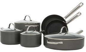 Vue 'Complete 2' Induction Hard Anodised 6 piece cookware set
