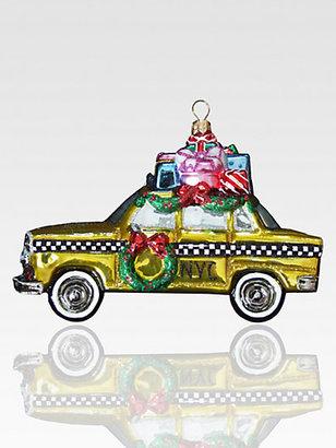 Kurt Adler Polonaise NYC Taxicab Ornament