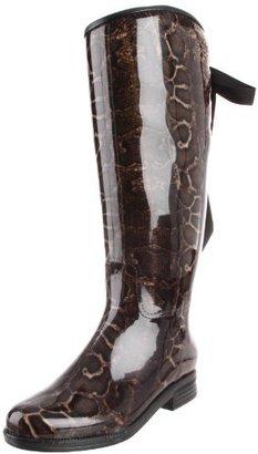 dav Women's Victoria Snake Boot