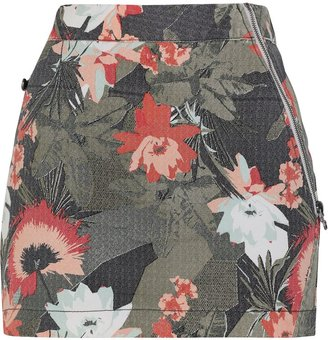Bench Home time floral print mini skirt
