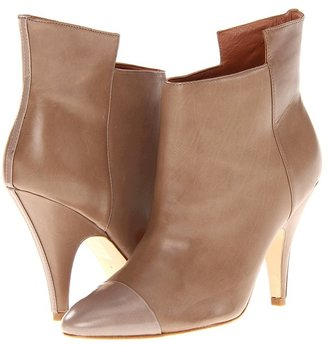 Sigerson Morrison Naomi (Taupe Leather) - Footwear