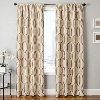 JCPenney SOFTLINE HOME FASHIONS Dover Rod-Pocket Curtain Panel