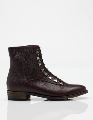 New Kid Penny Dreamcore Boot in Burgundy