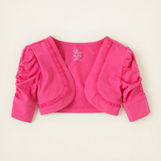 Children's Place Ruched dressy shrug