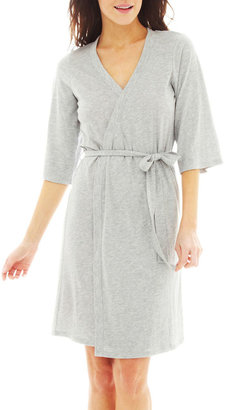 JCPenney INSOMNIAX Insomniax 3/4-Sleeve Robe