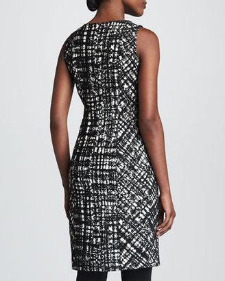 Paule Ka Sleeveless Sheath Dress