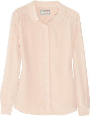 Aubin and Wills Beachwood silk blouse