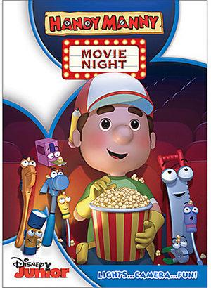 Disney Handy Manny Movie Night DVD