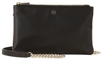Ann Taylor Double Zip Crossbody Bag