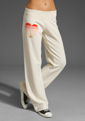 Wildfox Couture Beach Heart Sweatpant