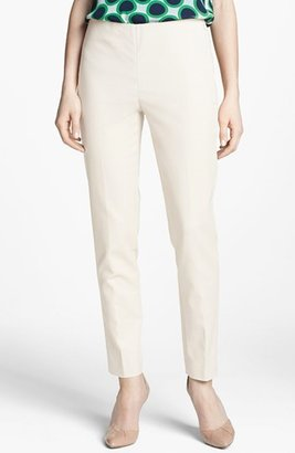 Vince Camuto Women's Side Zip Double Weave Stretch Cotton Pants