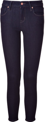 Marc by Marc Jacobs Dark Blue Rinse Cropped Jeans