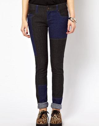 Tripp NYC Patchwork Denim Jeans