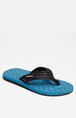 Quiksilver 'Monkey' Flip Flop (Men) Blue 14 D