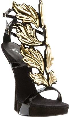 Giuseppe Zanotti Design winged heelless sandal