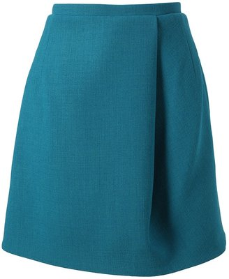 Carven Double Crepe Skirt