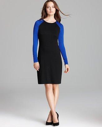 Karen Kane British Color Block Dress