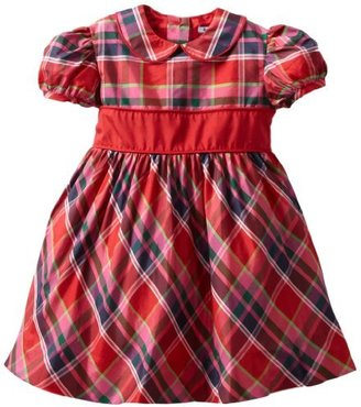 Hartstrings 2-6X Toddler Blend Plaid Party Dress