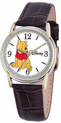 Disney Cardiff Womens Winnie the Pooh Brown Leather Watch Family