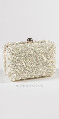eDressMe Pearl Covered Handbag