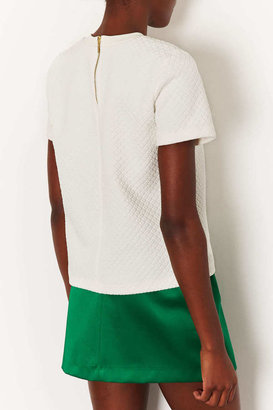 Topshop Quilted tee