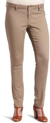 Southpole Teen-girlswomen's Size Junior Plus Basic Uniform Straight Pants