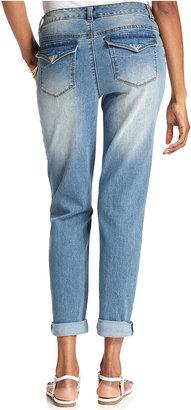Style&Co. Jeans, Cuffed Ex-Boyfriend, Millenium Wash
