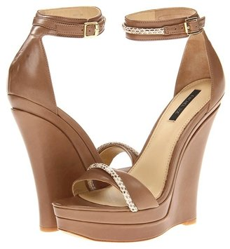 Rachel Zoe Katlyn (Beige Leather) - Footwear