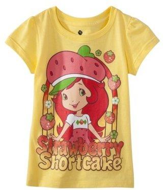Strawberry Shortcake Infant Toddler Girls' Short-sleeve Tee - Mellow Yellow