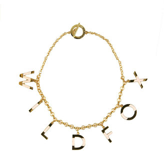 Wildfox Couture WF 10k Gold Plate Necklace