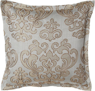 "Isabella Collection by Kathy Fielder Damask Pillow, 20""Sq."