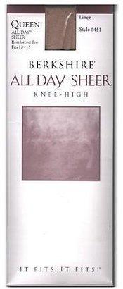 Berkshire All Day Sheer Queen Knee Highs
