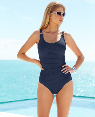 Calvin Klein Starburst One-Piece Swimsuit $79.98 thestylecure.com