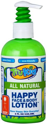 TruKid Happy Face and Body Lotion - Lightly Scented - 8 oz