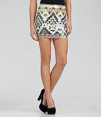 Lovemarks Tribal Sequin Skirt