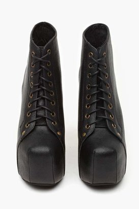Nasty Gal Jeffrey Campbell Lita Platform Boot - Black