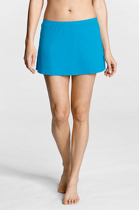 Lands' End Women's Regular SwimMates Cover-up Skirt