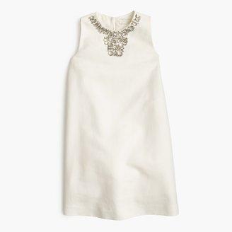 Girls' Gracen dress in cotton cady $198 thestylecure.com
