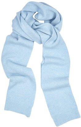COLORFUL STANDARD Light Blue Merino Wool Scarf