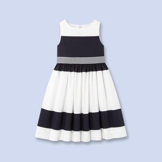 Jacadi Fancy color block dress