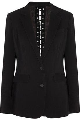 Rag and Bone Rag & bone Lillian eyelet-back piqué blazer