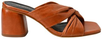 ALOHAS Greta Heeled Leather Mules