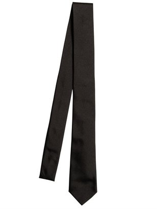 DSquared 5cm Single Cross Jacquard Silk Twill Tie