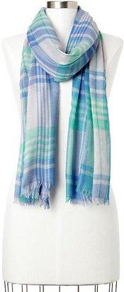 Gap Large plaid scarf