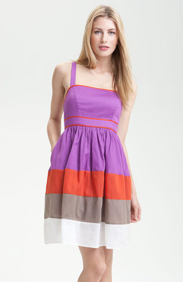 Jessica Simpson Colorblock Cotton Dress