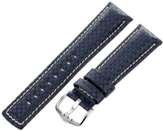 Hirsch 025920-80-22 22 -mm Genuine Calfskin Watch Strap