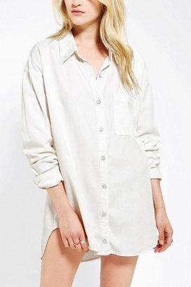 BDG Oversized Button-Down Oxford Shirt